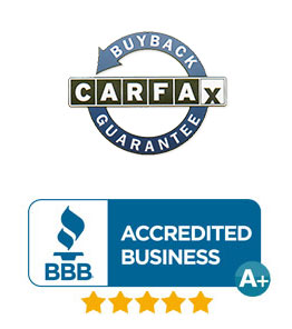 Carfax and BBB TOP Rated