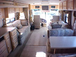 Used Motorhome Interior