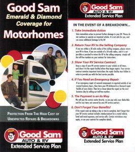 Good Sam RV Warranty